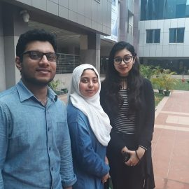 SLS Biochemistry Students Qualify for 2nd Round of Prestigious International Sanger Competition
