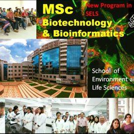"NEW MASTER'S PROGRAM IN ""BIOTECHNOLOGY AND BIOINFORMATICS"" IN IUB"